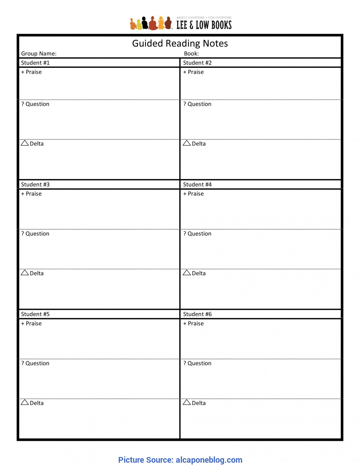 Valuable Guided Reading Notes Template Guided Reading Notes Template Common Core Curriculum Sampl
